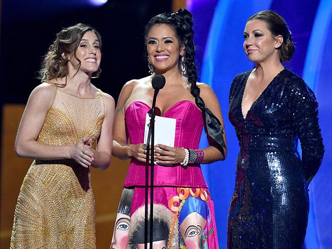 Soledad Pastorutti, Lila Downs, Niña Pastori, Latin Grammy 2014