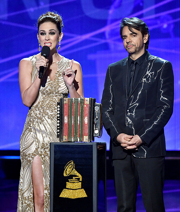 Eugenio Derbez, Jacqueline Bracamontes, Latin Grammy 2014