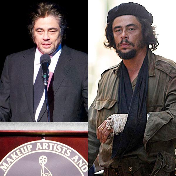 Benicio Del Toro, Actores que alteraron su peso