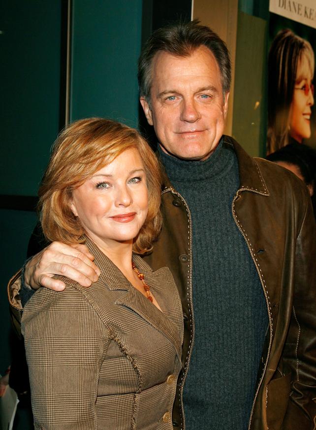 Stephen Collins y Faye Grant