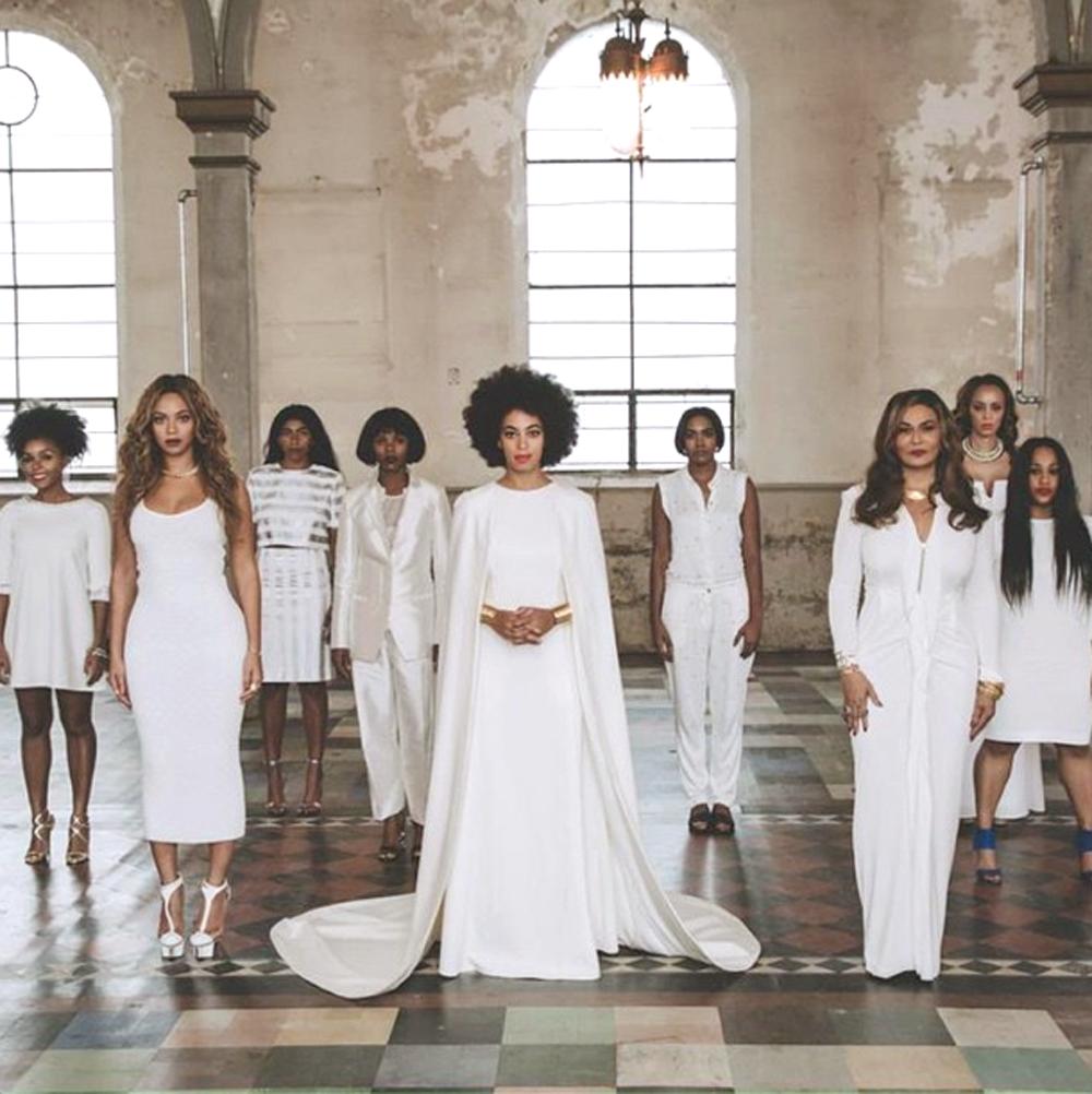Beyoncé en la boda de Solange