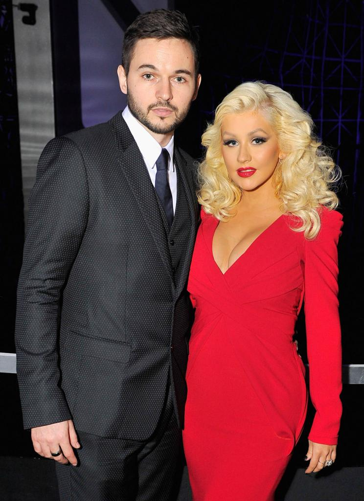 Christina Aguilera y Matt Rutler