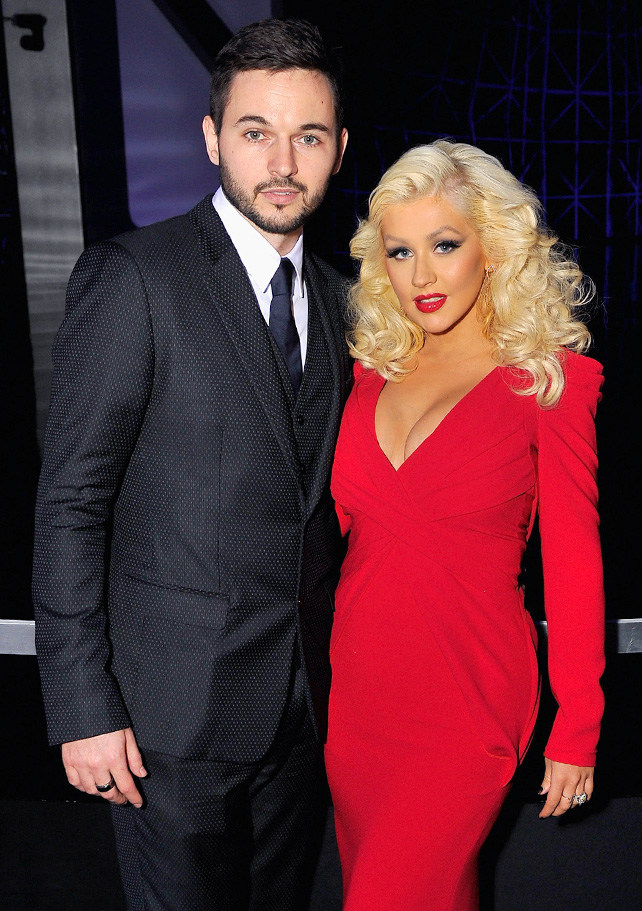 Christina Aguilera y Matt Ruler