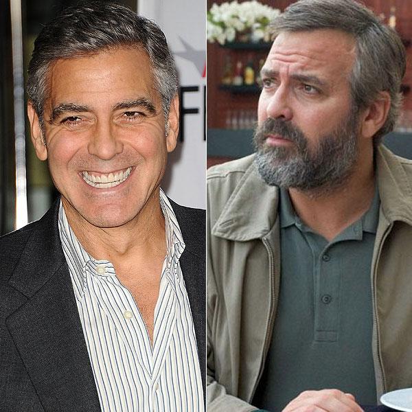George Clooney, Actores que alteraron su peso