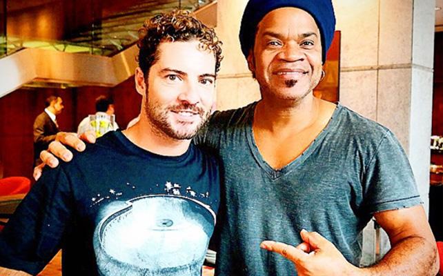 David Bisbal y Carlinhos Brown
