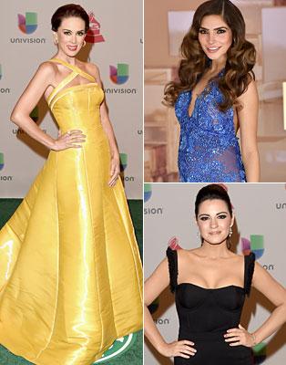 Latin Grammy 2014: Ellas en la alfombra