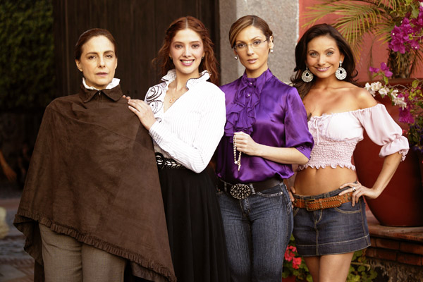 Diana Bracho, Adela Noriega, Nora Salinas, Elizabeth Álvarez, telenovelas