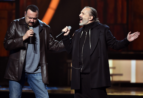 Pepe Aguilar, Miguel Bosé, Grammy latino 2014