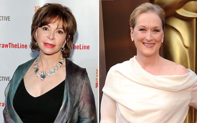 Isabel Allende y Meryl Streep