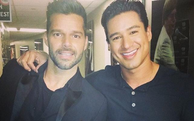 Mario López y Ricky Martin