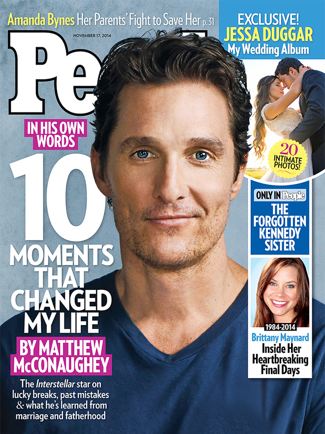 Matthew McConaughey Cover