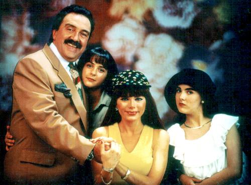 Pedro Armendáriz Jr., Irán Castillo, Roxana Chávez, Marisol Mijares, telenovelas