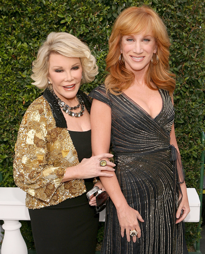 Kathy Griffin y Joan Rivers