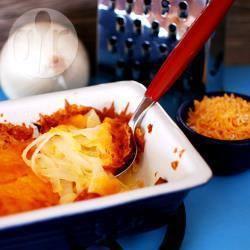 Cebolla con queso