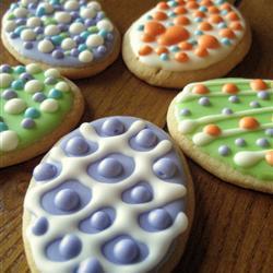 Betún de azúcar glass para galletas