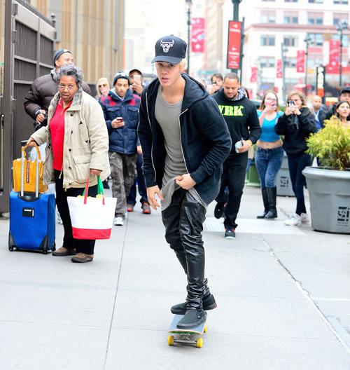 Míralos, Justin Bieber