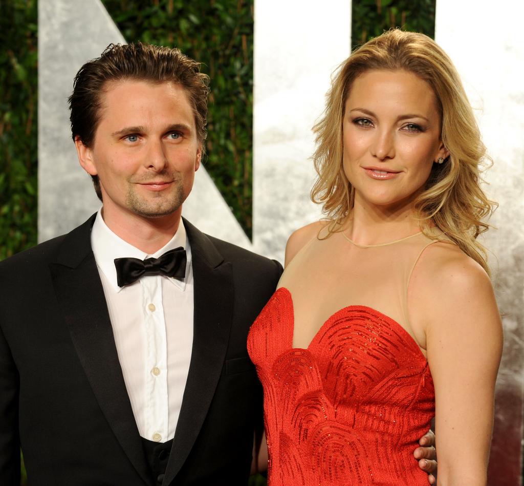Matthew Bellamy y Kate Hudson