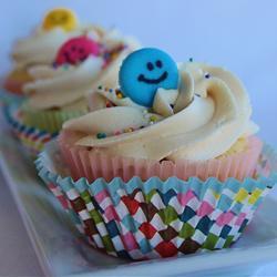 Cupcakes de vainilla con Baileys
