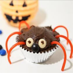 Arañas de cupcake