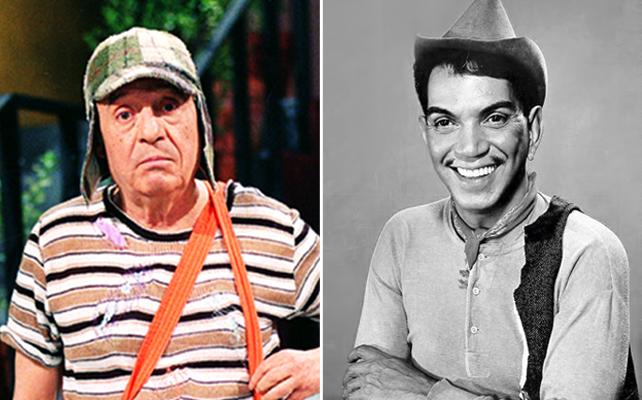 Chespirito y Cantinflas