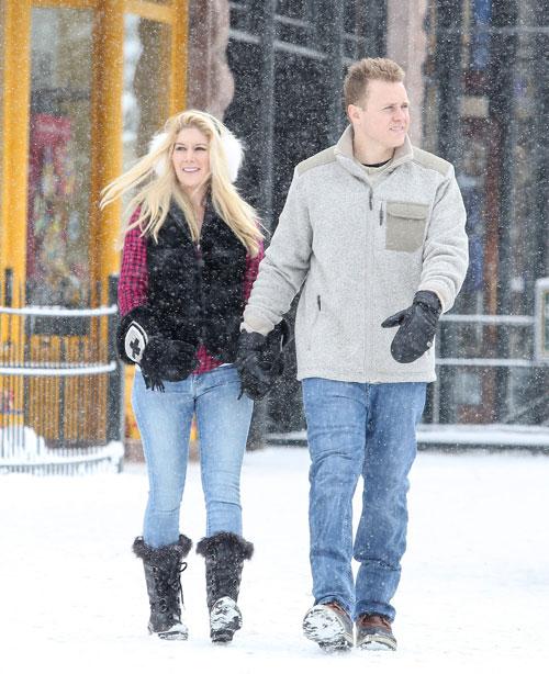 Míralos, Heidi Montag y Spencer Pratt
