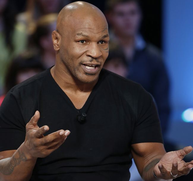 Mike Tyson para artículo