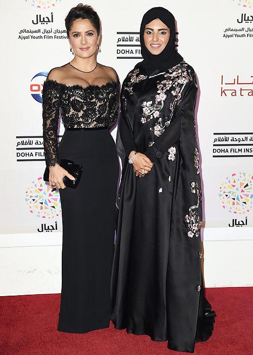 Salma Hayek, Fatma Al-Remaihi, Míralos