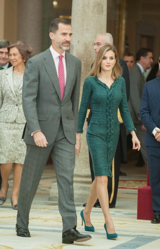 Míralos, Rey Felipe y Reina Letizia