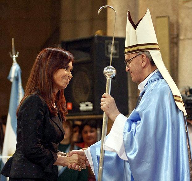Nuevo Papa, Bergoglio, Francisco, Cristina Kirchner