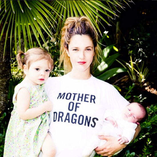 Drew Barrymore, Frankie, bebes