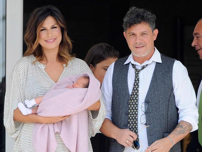 Alejandro Sanz, Raquel Perera, Alma Sanz