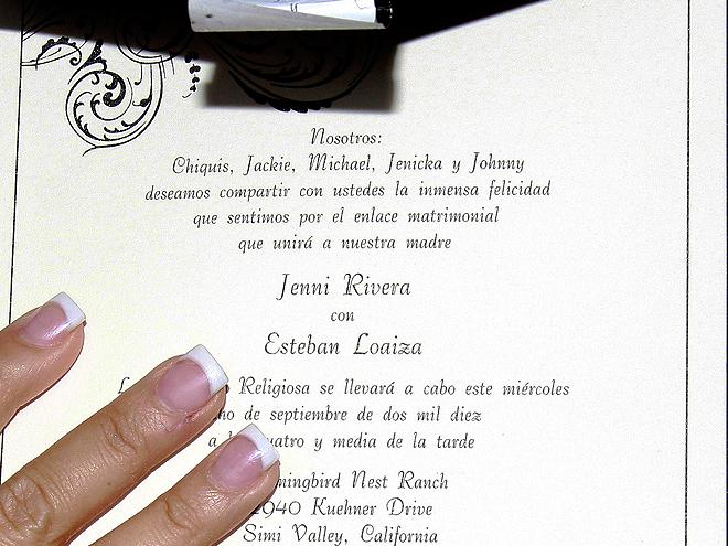 Boda Jenni Rivera