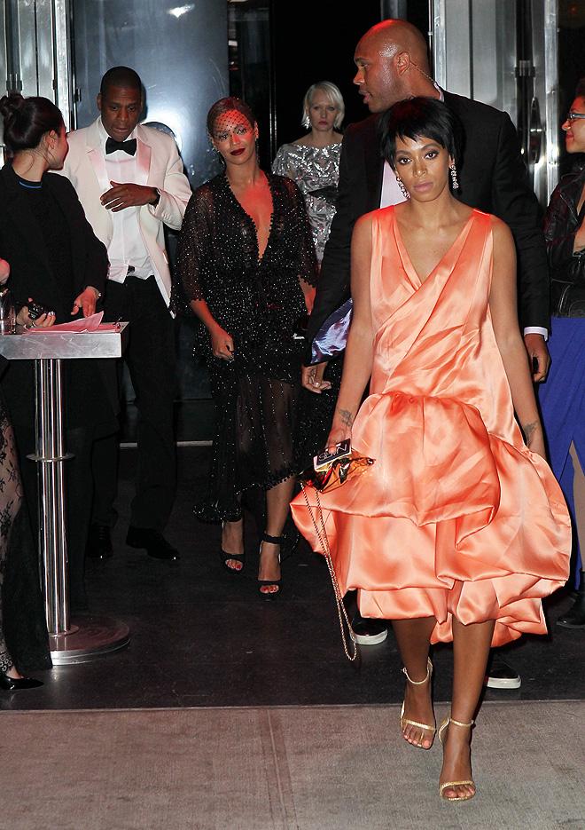 Beyoncé, Solange Knowles, Jay Z