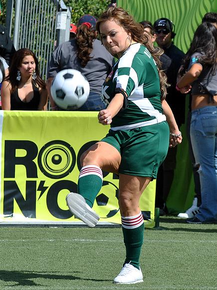 Jenni Rivera, Futbolista frustrados