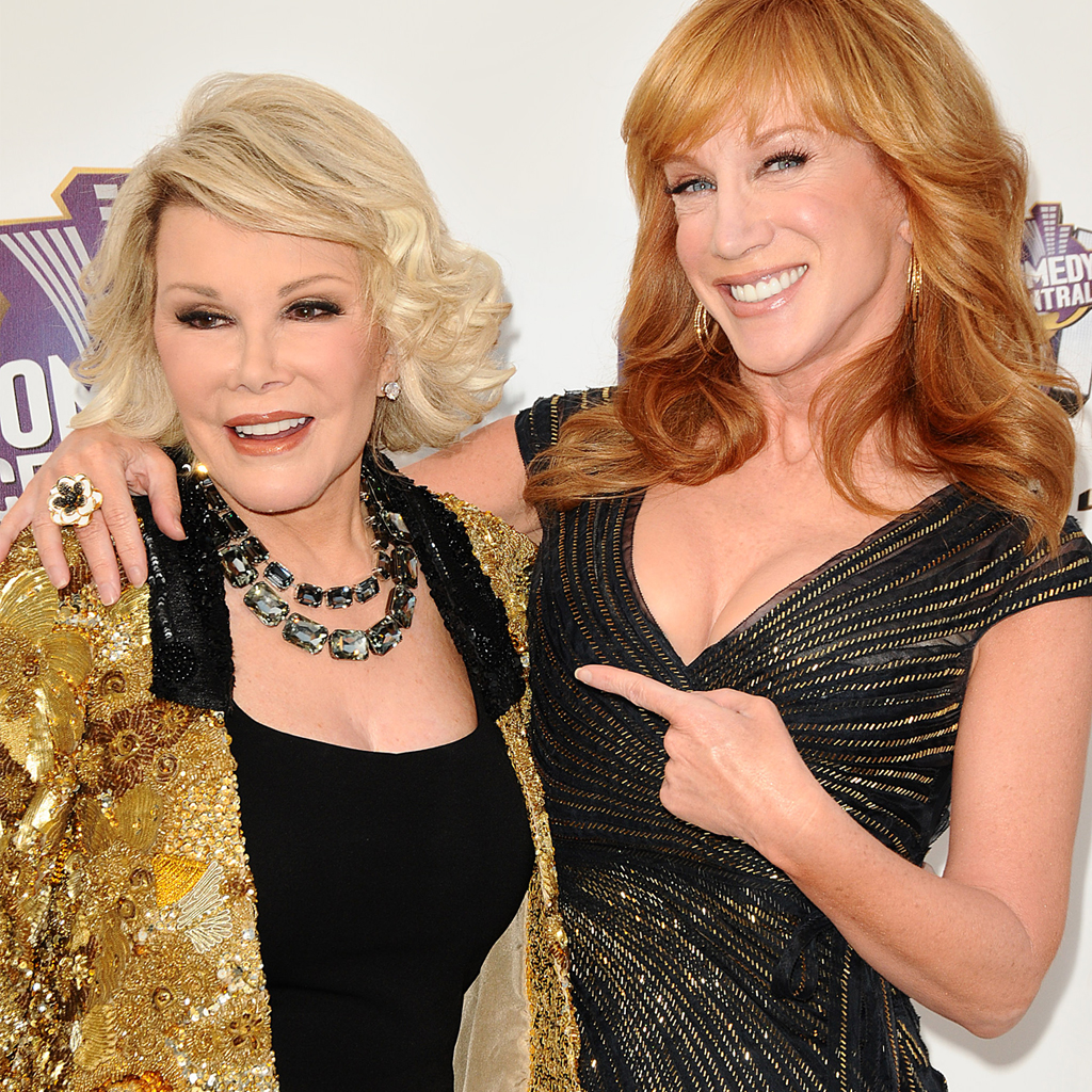 Kathy Griffin reemplaza Joan Rivers