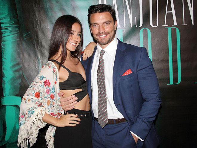 Julian Gil y Viviana Serna