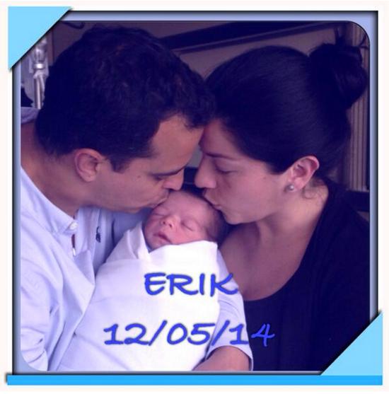 Lidia Ávila, Erik, bebes y embarazos famosos