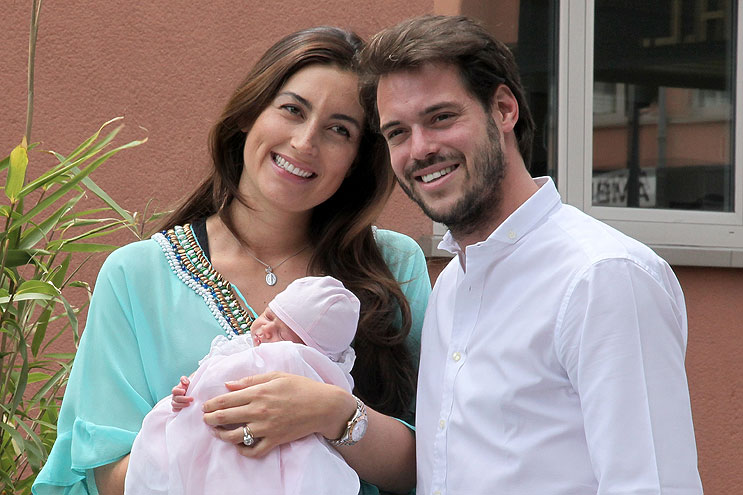 Príncipe Félix, princesa Claire, princesa Amalia
