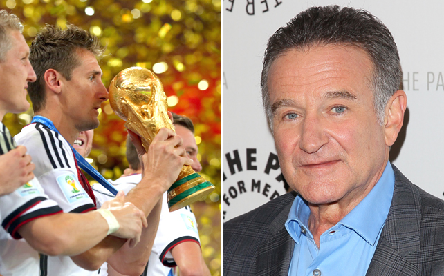 World Cup y Robin Williams