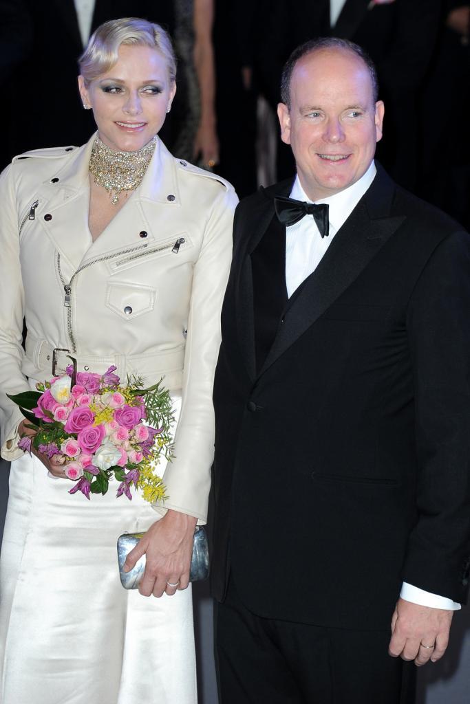 Charlene y Alberto de Monaco