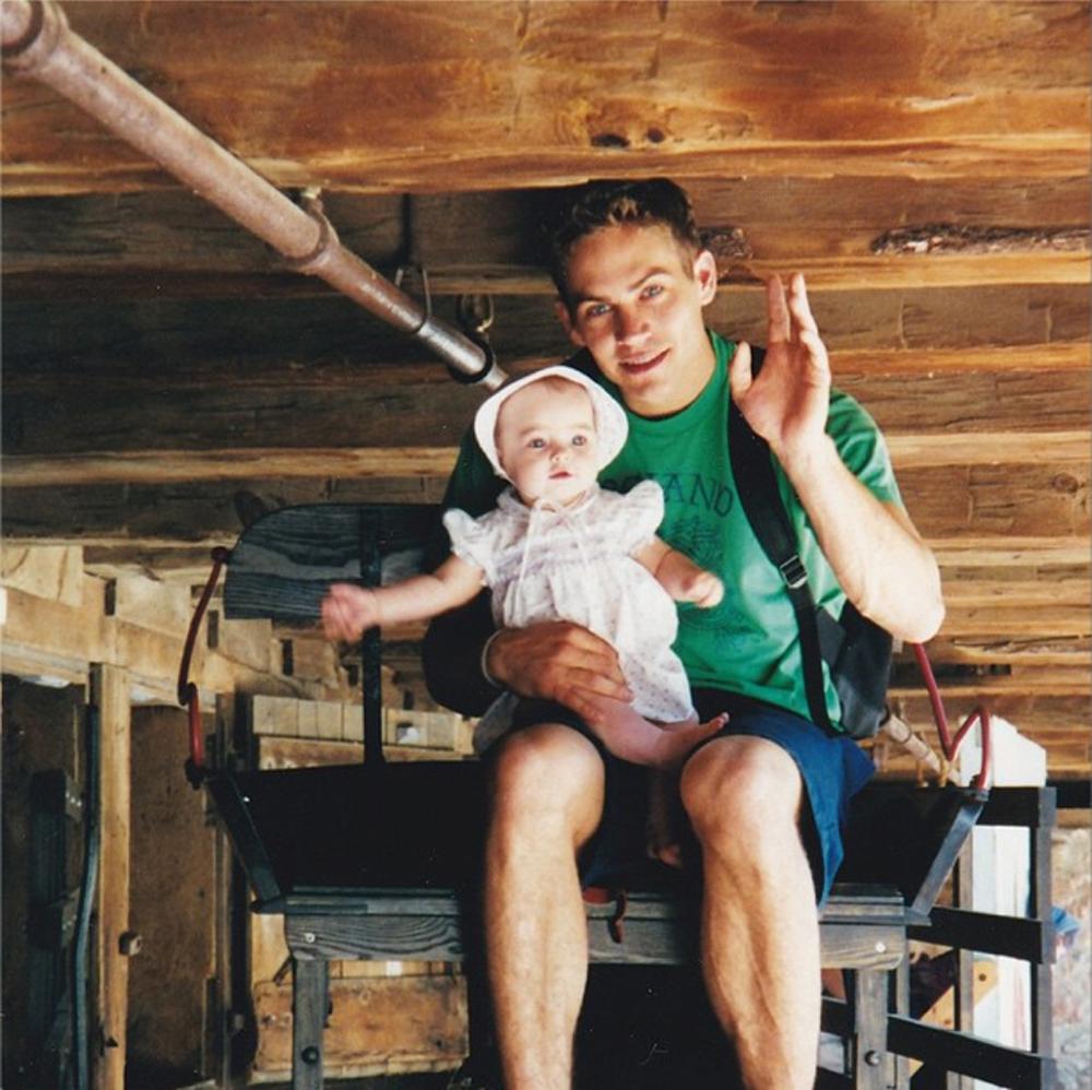 Paul Walker y Meadow Walker