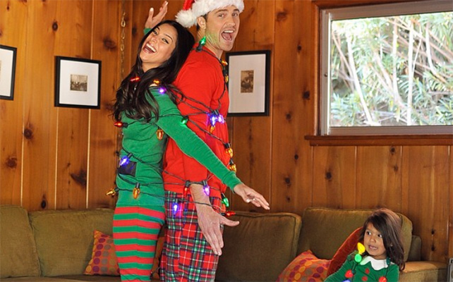 Roselyn Sánchez y Eric Winter