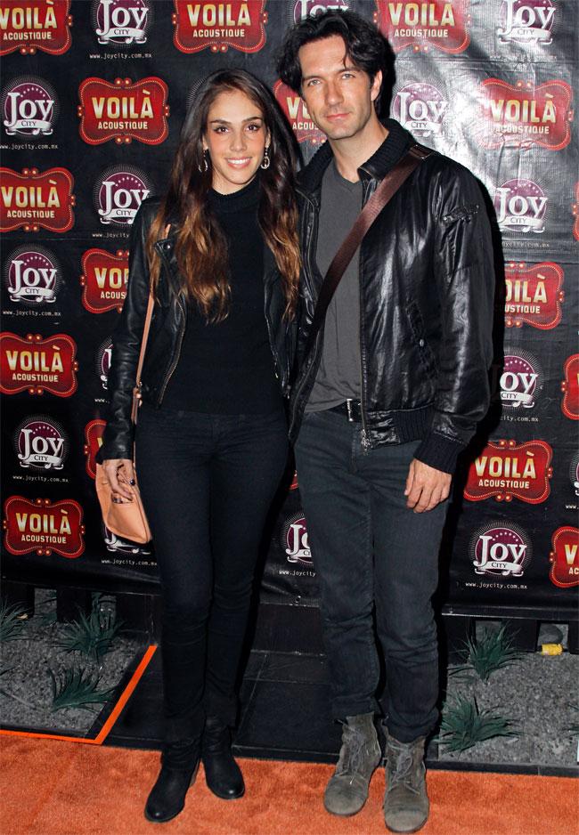 Sandra Echeverría y Leonardo de Lozanne,