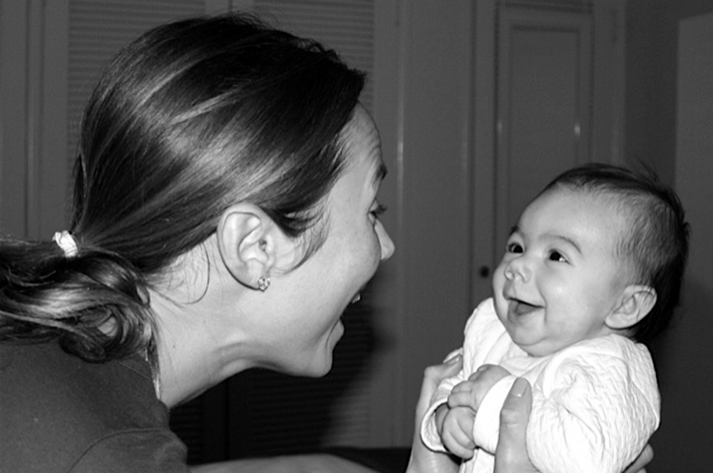 Stacy Keibler y Ava Grace
