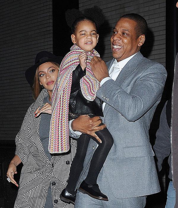Jay-Z, Beyoncé, Blue Ivy, Míralos