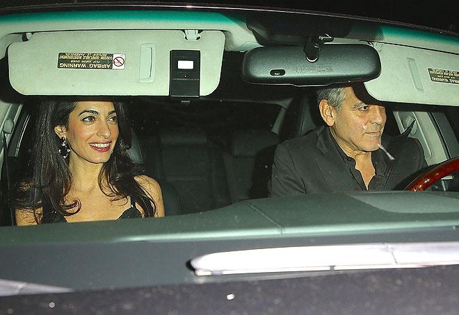 Amal Clooney, George Clooney, Míralos