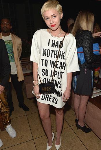 El look del día, Miley Cyrus