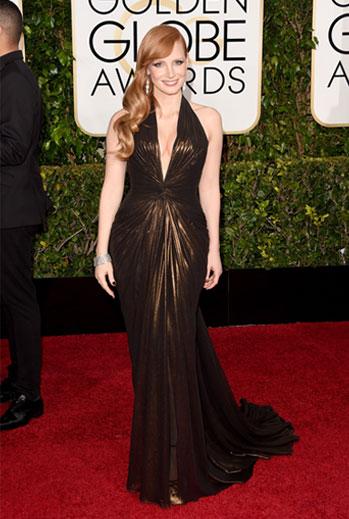 Golden Globes 2015 Ellas, Jessica Chastain