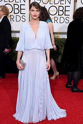 Golden Globes 2015 Ellas, Amanda Peet