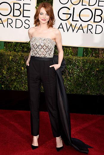 Golden Globes 2015 Ellas, Emma Stone